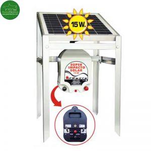 Electrificador Super Impacto Solar 15 W