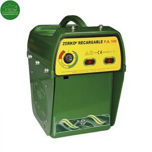 Pastor eléctrico Zerko-Recargable con batería 12 V y cargador