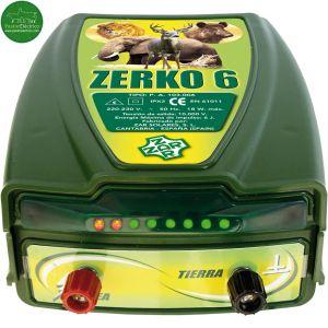 Pastor eléctrico Zerko-Red red eléctrica 6 julios de potencia