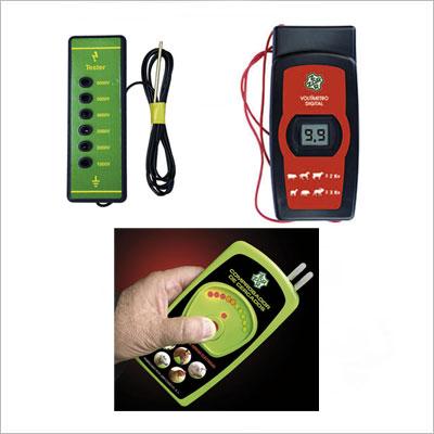 Comprobadores de pastores eléctricos y cercados eléctricos