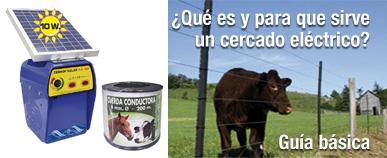 ¿Qué es y para qué sirve un pastor eléctrico o cercado eléctrico?