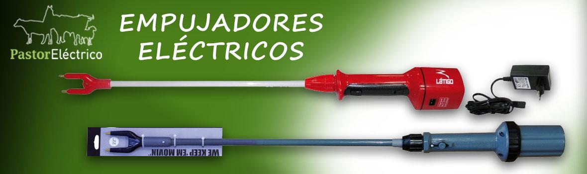 Empujadores eléctricos para animales a pilas y de baterias recargables - Pastorelectrico.com