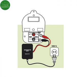 Adaptador Red Eléctrica modelos Zako e Impacto para pastor eléctrico
