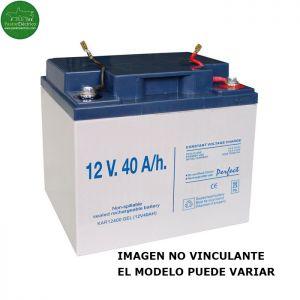 Batería Gel Recargable 12 V. 40 A/h pastor eléctrico