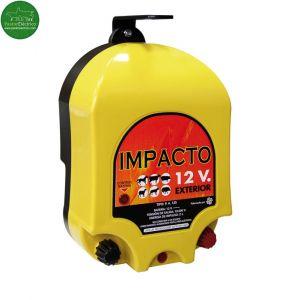 Pastor eléctrico Impacto 12 V a batería exterior o adaptador red
