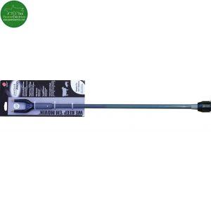 Alargadera 120 cm para empujador gris eléctrico a pilas