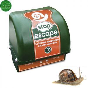 Electrificador para caracoles Stop Escape con adaptador 220V/12V