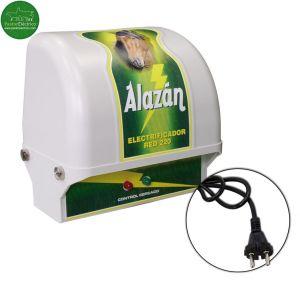 Pastor eléctrico para caballos Alazán a red eléctrica