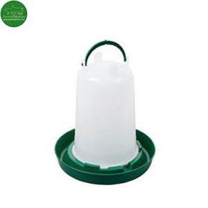 Bebedero Pollos capacidad 1,5 litros pastor eléctrico