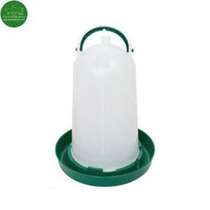 Bebedero Pollos capacidad 3 litros pastor eléctrico