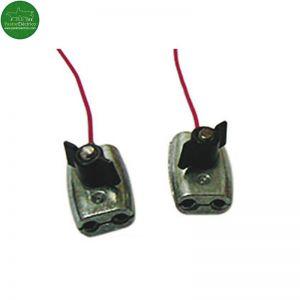 Conector Dos Líneas Cuerda o Hilo Conductor cercado eléctrico