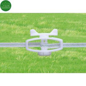 Tensor para cable flexible y cinta de 10mm con bloqueo cercado eléctrico