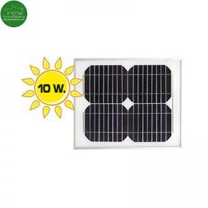 Placa solar 10 Watios pastor eléctrico