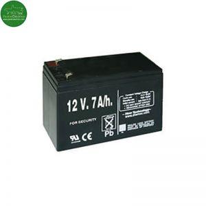 Batería recargable 12 V 7 A/h para pastor eléctrico