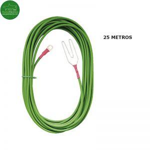 Salida línea aislante alta tensión 25m cable cercado eléctrico