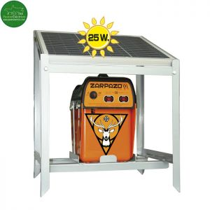 Pastor Electrico Zarpazo 12 V con placa solar