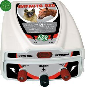 Pastor eléctrico Impacto Red a red eléctrica para caballos y perros