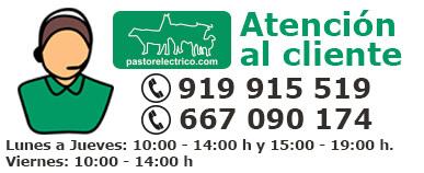 Atención al cliente 919915519 o 667090174