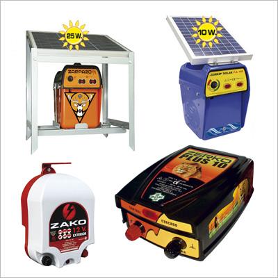 Pastores Eléctricos a red electrica, pastores electricos a placa solar y pastores eléctricos a bateria
