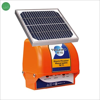 Placas solares pastores eléctricos