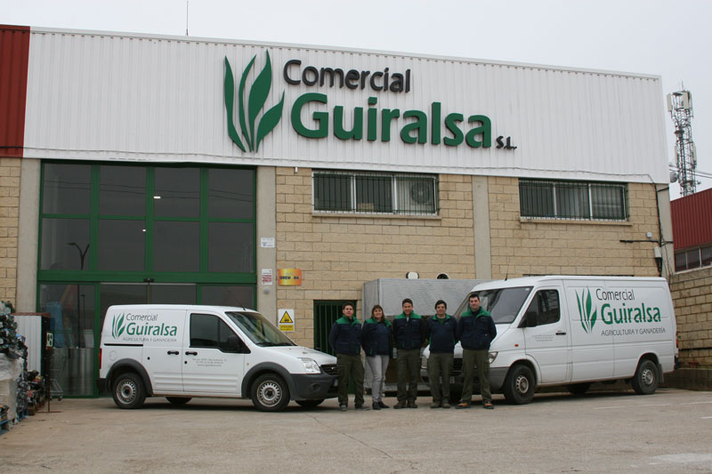 El equipo de Comercial Guiralsa