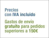 IVA incluido. Portes gratuitos