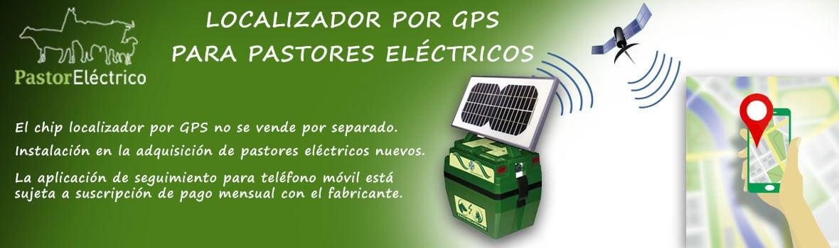 Localizador por GPS para pastores eléctricos para evitar robos