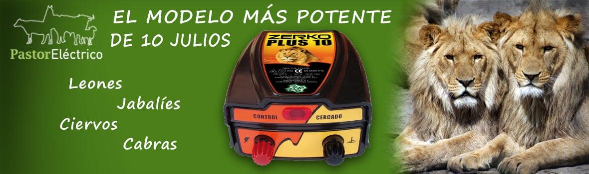 Pastor eléctrico Zerko Plus 10 julios de potencia el más potente